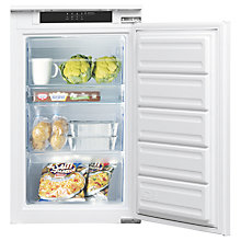 Buy Indesit INF901EAA Integrated Undercounter Fridge, A+ Energy Rating, 54cm Wide Online at johnlewis.com
