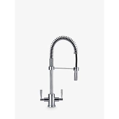 Franke Olympus Pull Out Nozzle 2 Lever Mixer Kitchen Tap