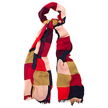 Buy Phase Eight Colour Block Scarf, Multi Online at johnlewis.com