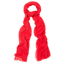 Buy Phase Eight Effie Scarf, Red Online at johnlewis.com