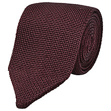 Buy Reiss Canter Knitted Silk Tie Online at johnlewis.com