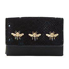 Buy Dune Kimbug Embellished Purse, Black Online at johnlewis.com
