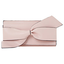 Buy Dune Kbow Large Bow Purse, Blush Online at johnlewis.com