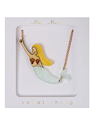 Buy Meri Meri Children's Mermaid Necklace Online at johnlewis.com