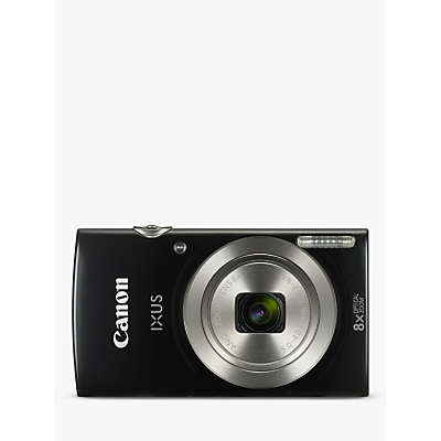 Image of Canon IXUS 185 Digital Camera, HD 720p, 20.0MP, 8x Optical Zoom, 16x Zoom Plus, 2.7 LCD Screen with Wrist Strap