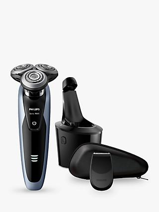 Philips S9211/26 Series 9000 Wet or Dry Men's Electric Shaver with with Precision Trimmer and SmartClean System