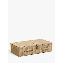 Buy John Lewis Fusion Seagrass Under Bed Storage Box Online at johnlewis.com