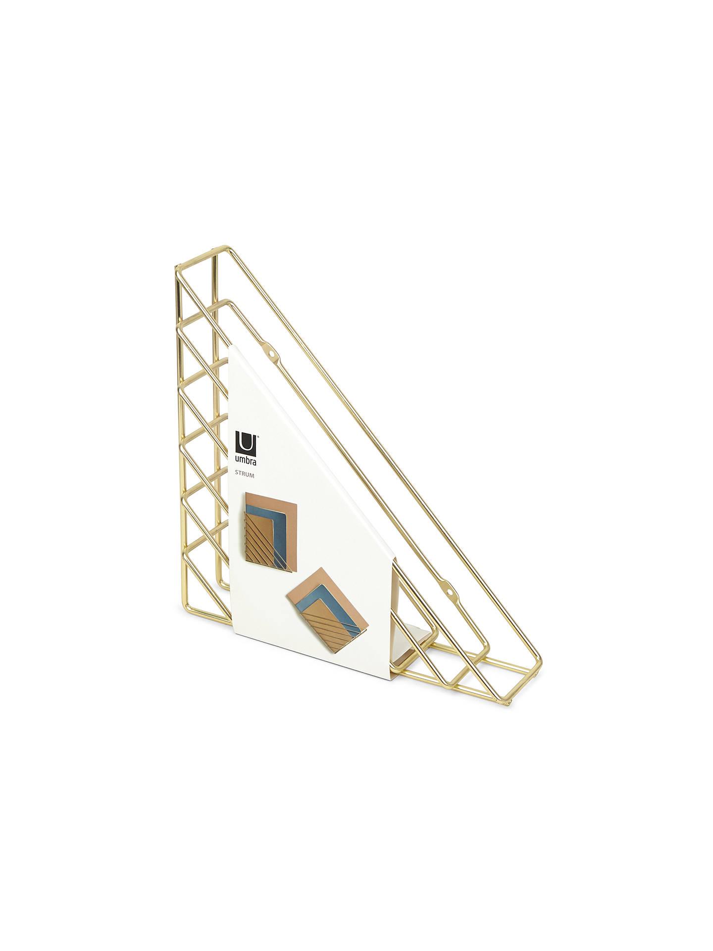 Strum Wall Organizer Brass Umbra 1004460-104