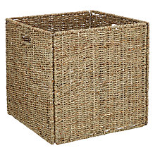 Buy Fusion Seagrass Square Box Online at johnlewis.com