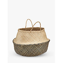 Buy John Lewis Dakara Seagrass Basket Online at johnlewis.com