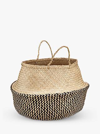 John Lewis Partners Dakara Seagrass Basket