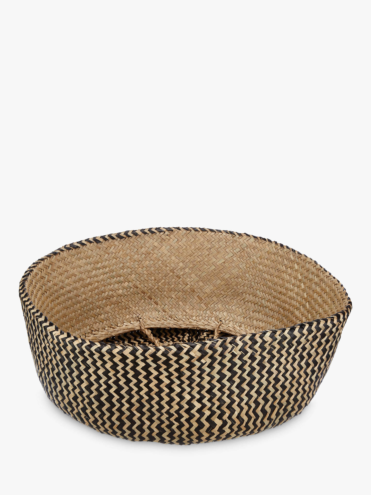 Buy John Lewis & Partners Dakara Seagrass Basket Online at johnlewis.com