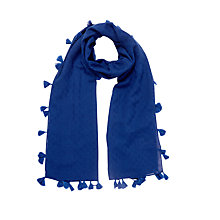 Buy Oasis Plain Tassel Scarf Online at johnlewis.com