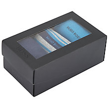 Buy BOSS Sock Gift Set, One Size, Pack of 3, Grey/Blue Online at johnlewis.com