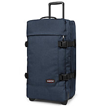 Buy Eastpak Tranverz Medium 2-Wheel Holdall Online at johnlewis.com