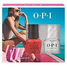 Buy OPI Fiji Living On The Bula-Vard With Plumping Top Coat Duo Pack Online at johnlewis.com