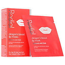 Buy Rodial Dragon's Blood Lip Masks, 8 x 5g Online at johnlewis.com