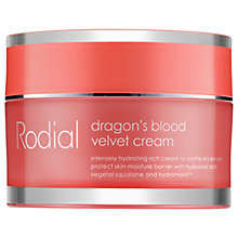 Buy Rodial Dragon's Blood Velvet Cream, 50ml Online at johnlewis.com