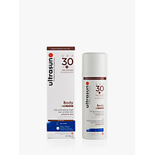 Buy Ultrasun SPF 30 Body Tan Activator, 150ml Online at johnlewis.com