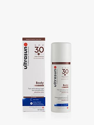 Ultrasun SPF 30 Body Tan Activator, 150ml