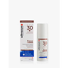 Buy Ultrasun SPF 30 Face Tan Activator, 50ml Online at johnlewis.com
