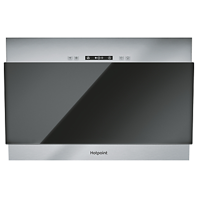 Hotpoint PHVP64FALK Built In Cooker Hood, Black