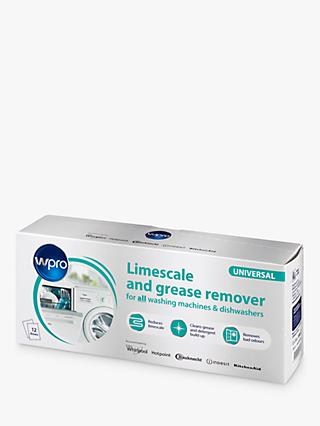 Wpro C00424828 Limescale And Grease Remover, Pack of 12