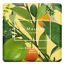 Buy Jo Malone London Limited Edition Michael Angrove Lime Basil & Mandarin Soap, 100g Online at johnlewis.com