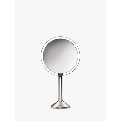 Bathroom Mirror John Lewis buy simplehuman sensor pro bathroom mirror, silver   john lewis