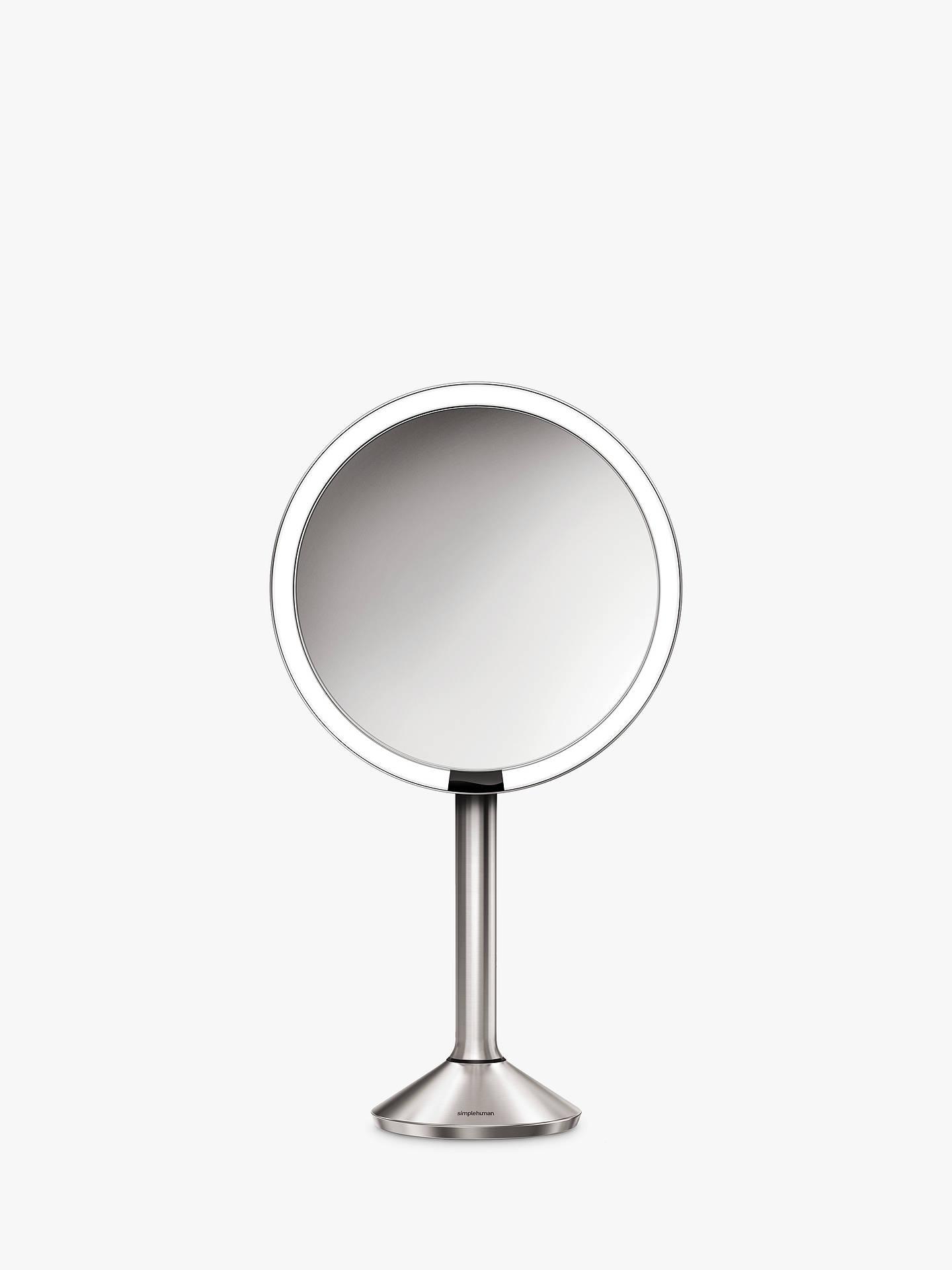 Simplehuman Sensor Pro Bathroom Mirror Silver At Johnlewis Com