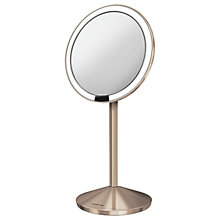 Buy simplehuman Travelmini Mirror, Rose Gold Online at johnlewis.com