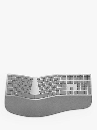 Microsoft Surface Ergonomic Keyboard, UK Version, Grey