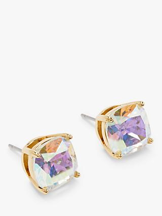 kate spade new york Mini Square Stud Earrings, Aurora Borealis