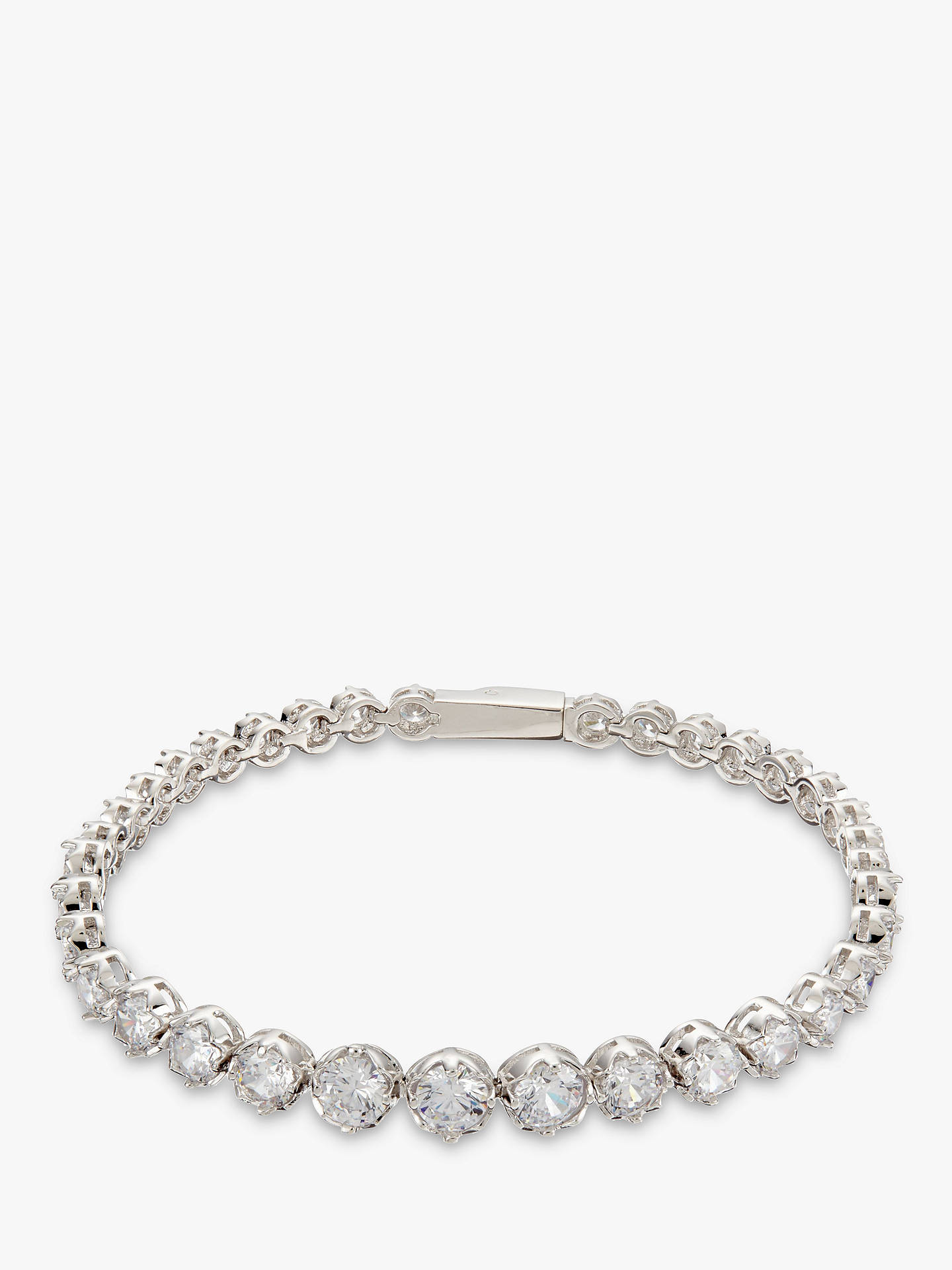Ivory & Co. Limelight Graduating Cubic Zirconia Tennis