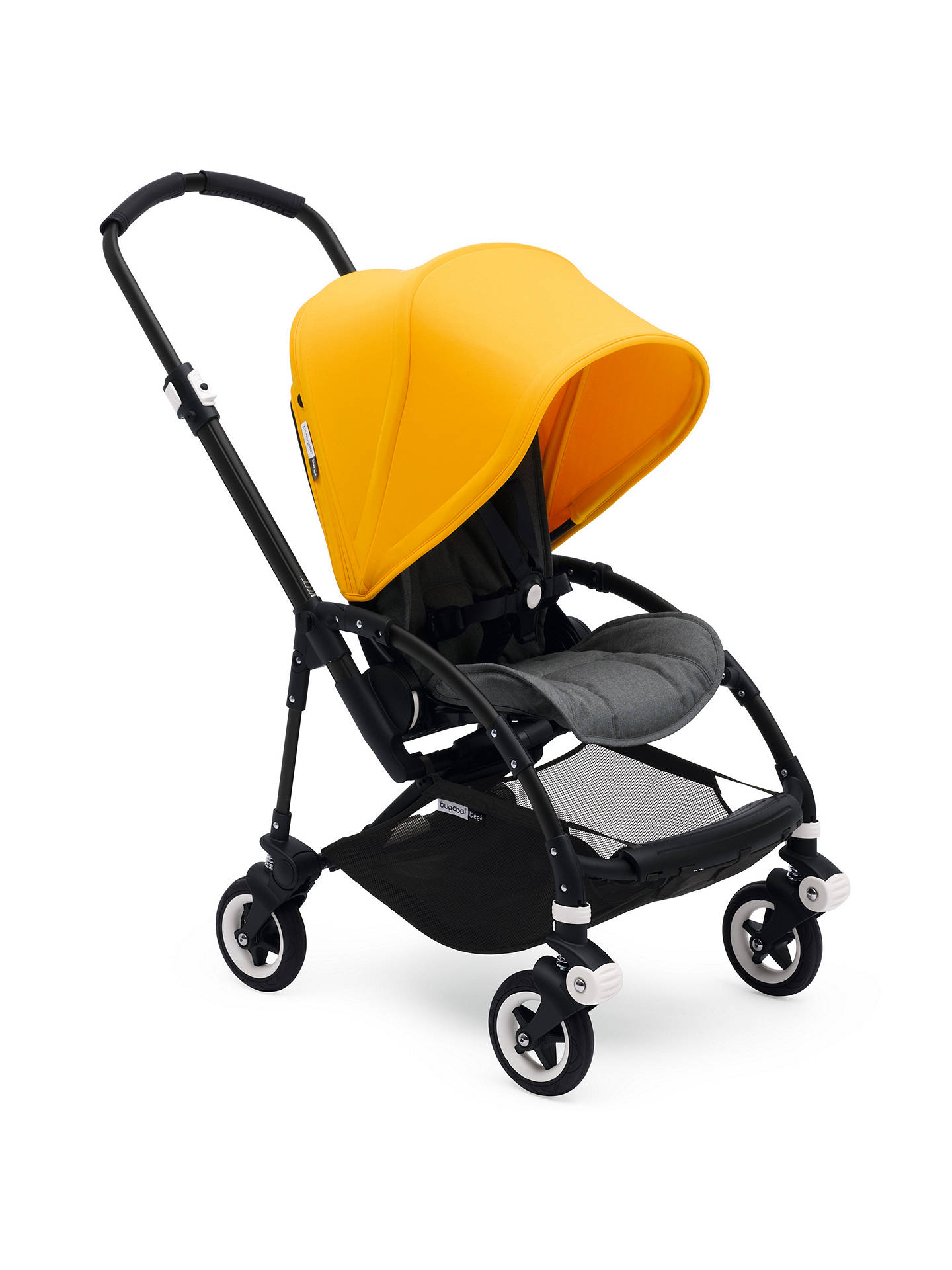 BuyBugaboo Bee 5 Pushchair Sun Canopy, Sunrise Yellow Online at johnlewis.com
