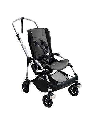Bugaboo Bee 5 Pushchair Chassis and Seat, Aluminium