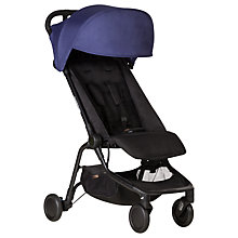 Buy Mountain Buggy Nano Stroller, Nautical Online at johnlewis.com