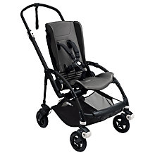 Buy Bugaboo Bee 5 Pushchair Chassis and Seat, Black Online at johnlewis.com