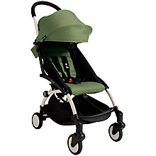 Buy Babyzen Yoyo+ Pushchair, White/Peppermint Online at johnlewis.com