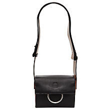 Buy French Connection Olive Mini Shoulder Bag, Black Online at johnlewis.com