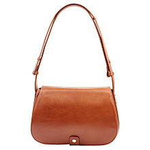Buy Hobbs Richmond Leather Across Body Bag, Veg Tan Online at johnlewis.com