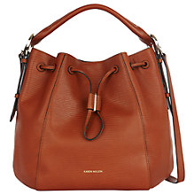 Buy Karen Millen Lizard Drawstring Tote Bag Online at johnlewis.com