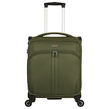 Buy Antler Aire 4-Wheel 55cm Cabin Case, Khaki Online at johnlewis.com