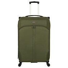 Buy Antler Aire 4-Wheel 80cm Suitcase, Khaki Online at johnlewis.com