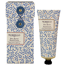 Buy Heathcote & Ivory Morris & Co Love Shea Butter Hand Cream, 100ml Online at johnlewis.com