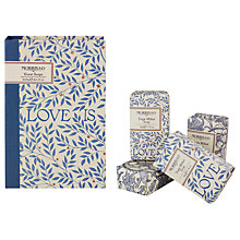 Buy Heathcote & Ivory Morris & Co Love Guest Soap Collection Online at johnlewis.com