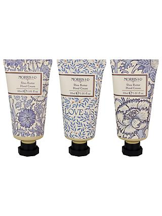 Heathcote & Ivory Morris & Co Love Shea Butter Hand Cream Collection