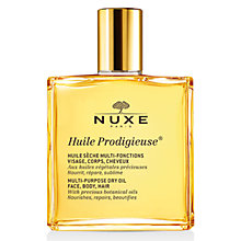 Buy NUXE Dry Oil Huile Prodigieuse® Splash Bottle, 50ml Online at johnlewis.com