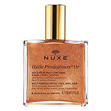 Buy NUXE Shimmering Dry Oil Huile Prodigieuse® Or, 50ml Online at johnlewis.com