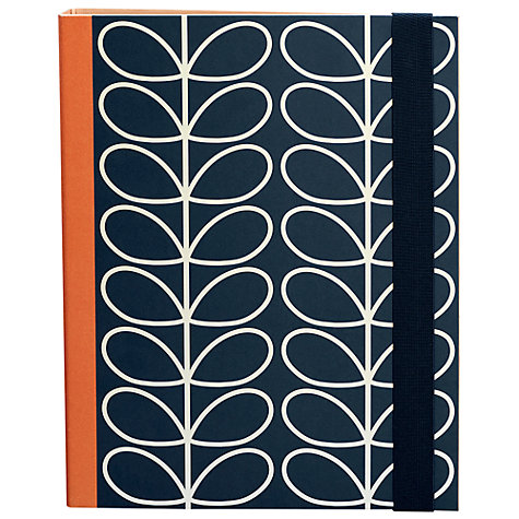 Buy Orla Kiely Slim Linear Stem Ringbinders, Pack of 2 Online at johnlewis.com